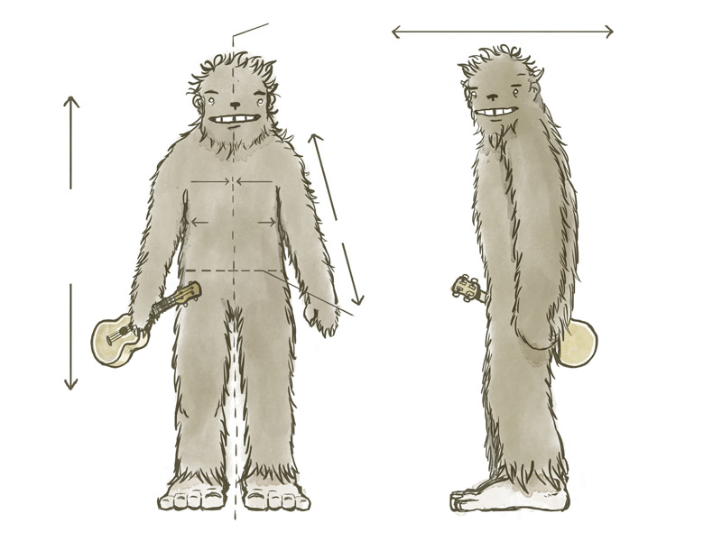 Bigfoot figure