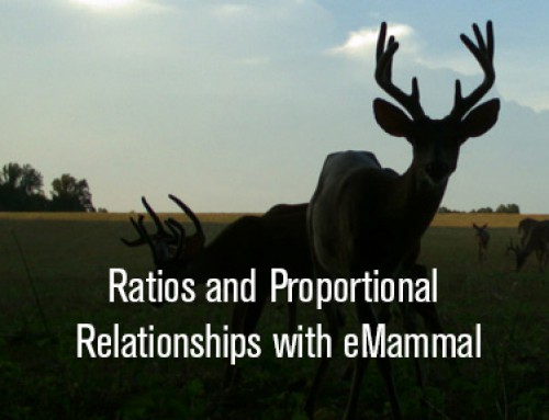 Ratios and Proportional Relationships with eMammal